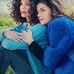 Ana Caterina Morariu e Anna Valle in Sorelle prima stagione, Credits RAI