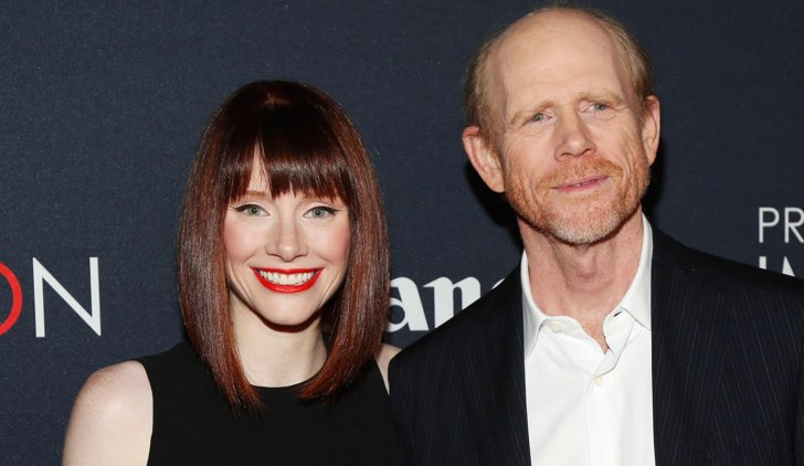 Ron Howard e Bryce Dallas Howard ©Getty