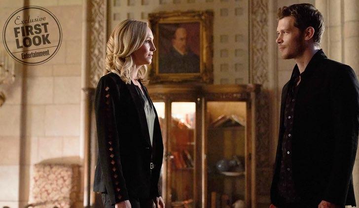 Klaus e Caroline insieme