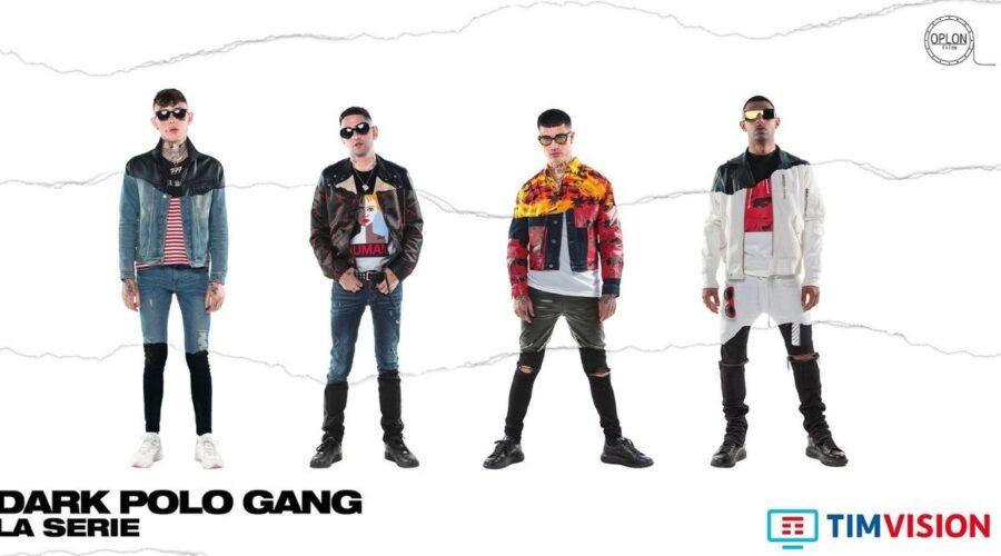Tony, Wayne, Pyrex e Side protagonisti di Dark Polo Gang la serie Credits Timvision
