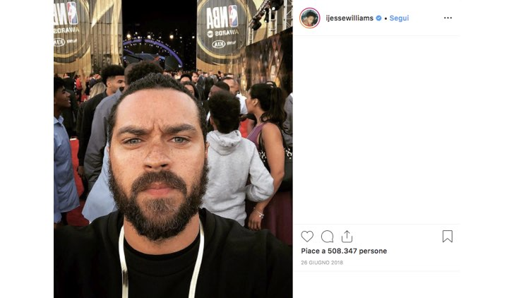 Jesse Williams Instagram