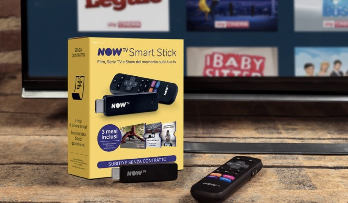 NOW TV Smart Stick Credits NOW TV