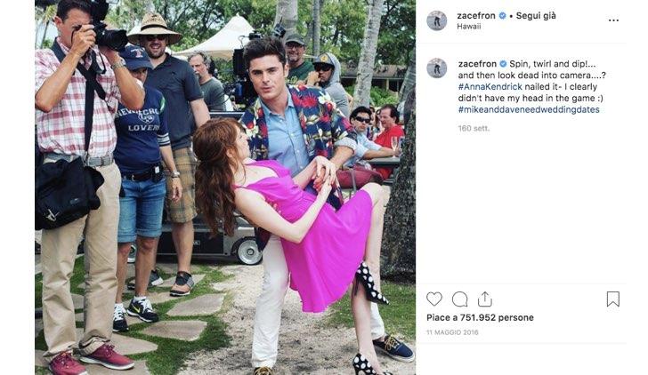 Zac Efron High School Musical Instagram