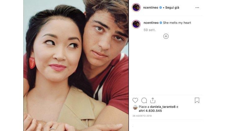 Noah Centineo Lana Condor Instagram
