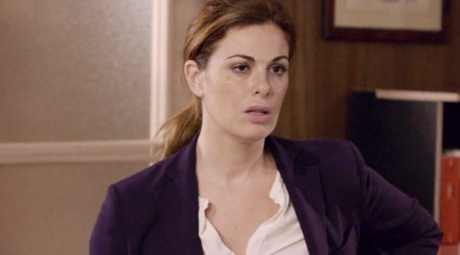 Non dirlo al mio capo Lisa interpretata da Vanessa Incontrada nel primo episodio della stagione 1 Credits RAI
