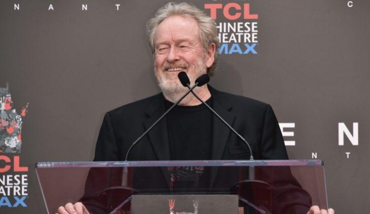 Il regista Ridley Scott. Credits Getty Images
