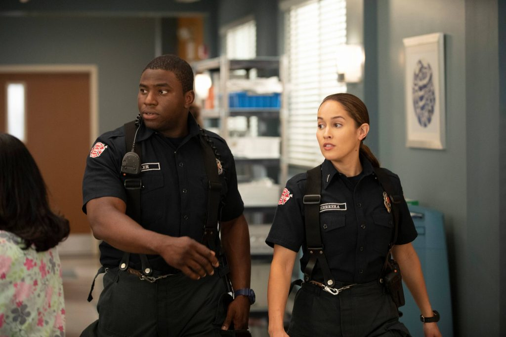 Station 19 2x02 Andy e Dean