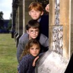 Harry Potter e la Pietra Filosofale - Harry, Ron e Hermione Credits The WB