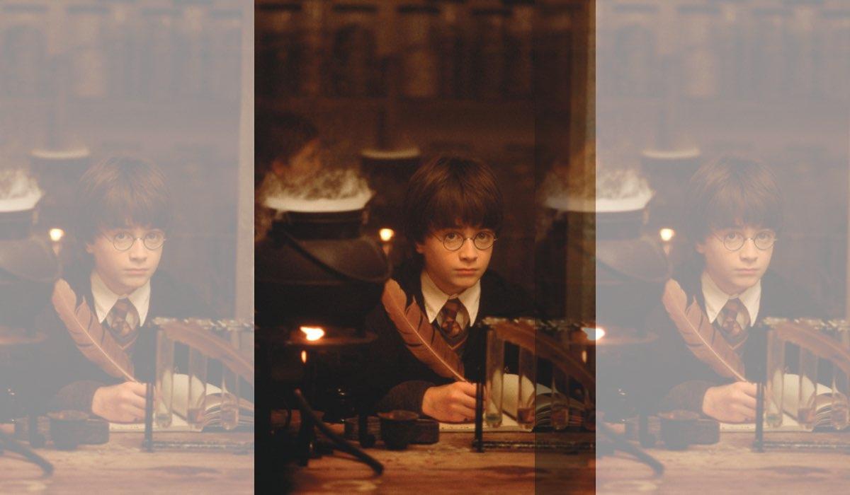 Harry Potter e la Pietra Filosofale, qui Harry Credits The WB