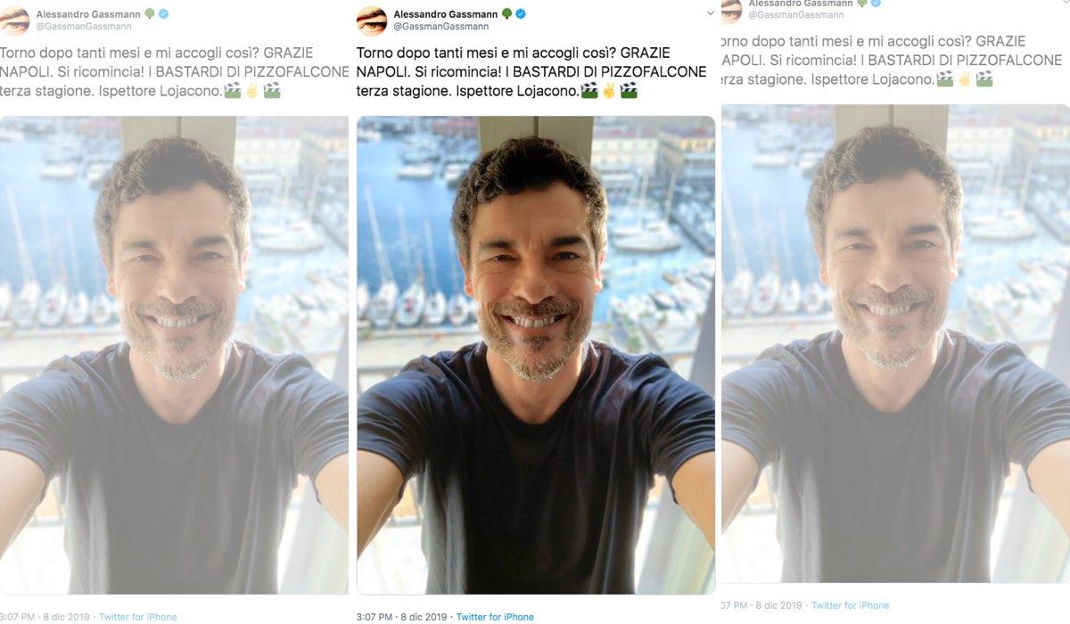 I Bastardi di Pizzofalcone 3 stagione Alessandro Gassmann pubblica aggiornamenti sul suo profilo Twitter l 8 dicembre 2019