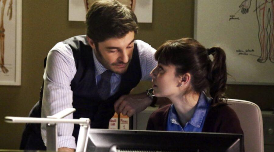 L'allieva Lino Guanciale e Alessandra Mastronardi nei panni di Carlo e Alice Credits RAI