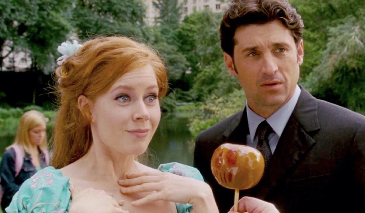 Amy Adams e Patrick Dempsey nel film Come d'Incanto Credits Walt Disney Pictures