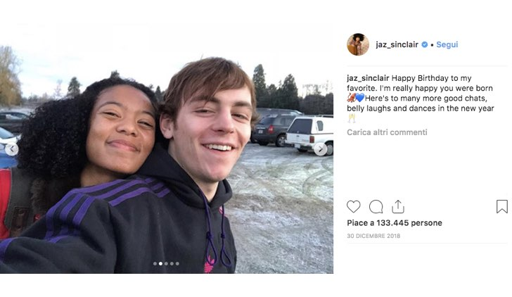 Ross Lynch Jaz Sinclair Instagram