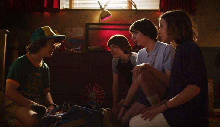 Stranger Things 3 ragazzi immagini ufficiali Credits Netflix