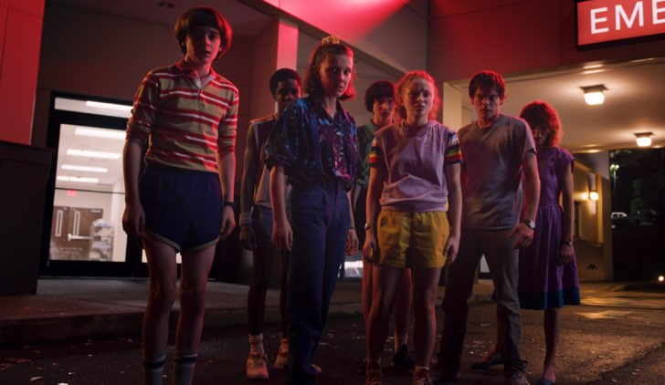 Stranger Things 3 stagione immagini ufficiali Credits Netflix