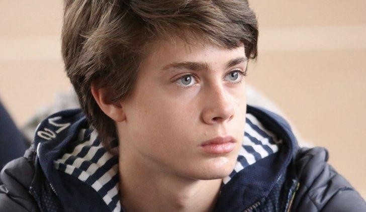 Andrea Pittorino ne L'Aquila Grandi Speranze Credits Rai