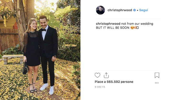 Chris Wood post Instagram