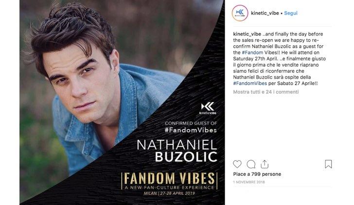 Fandom Vibes 2019 Nathaniel Buzolic