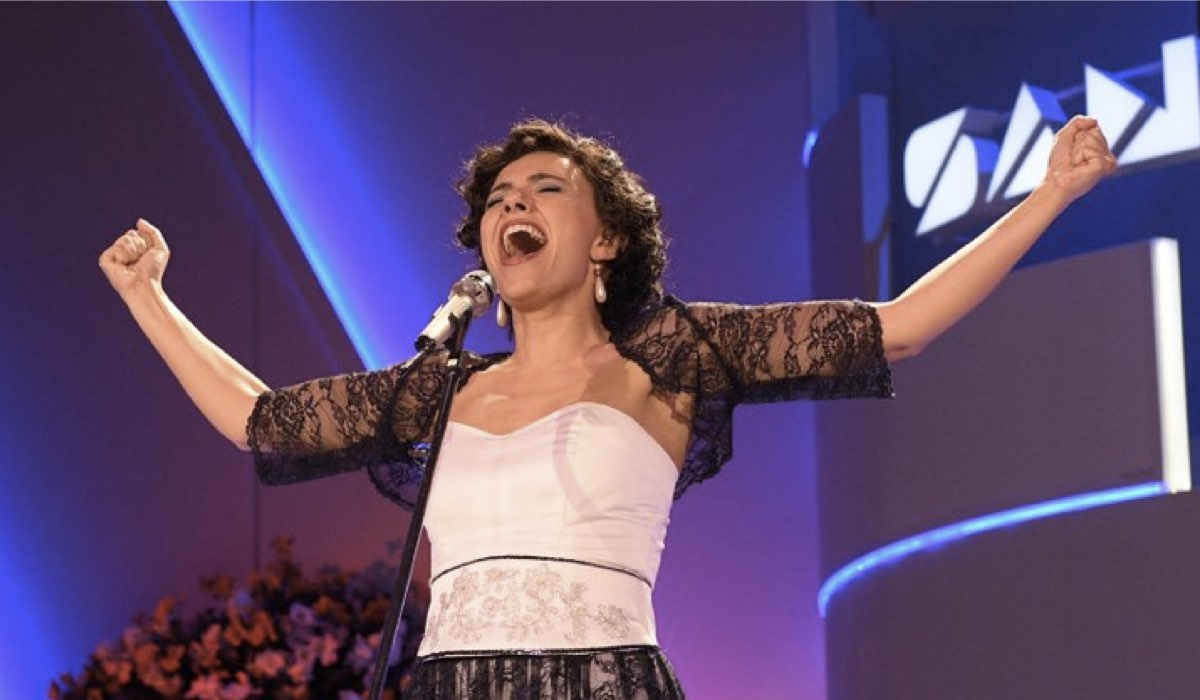 Io sono Mia Serena Rossi nel ruolo di Mia Martini - una produzione Eliseo Fiction in collaborazione con Rai Fiction - photo Bepi Caroli