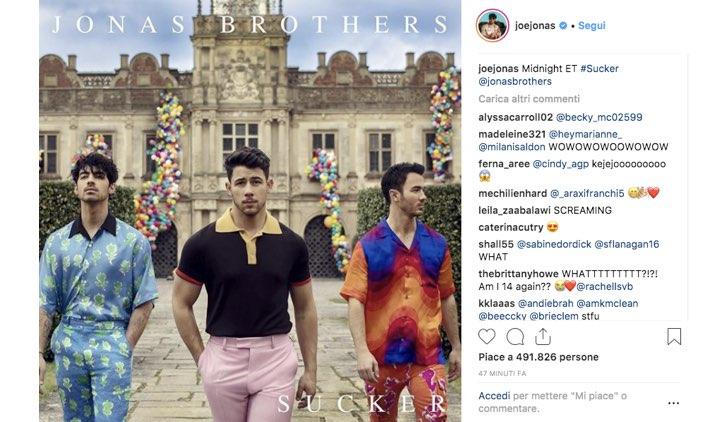 Jonas Brothers nuovo album 2019
