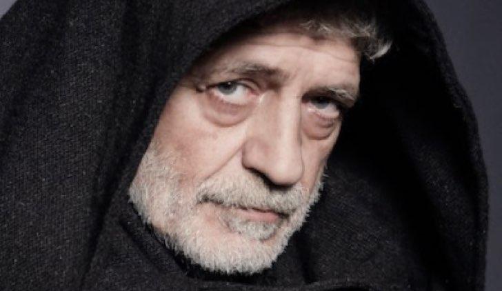 Remigio Da Varagine ( Fabrizio Bentivoglio) Il nome della rosa Credits RAI