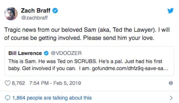 Sam Lloyd malato tweet braff