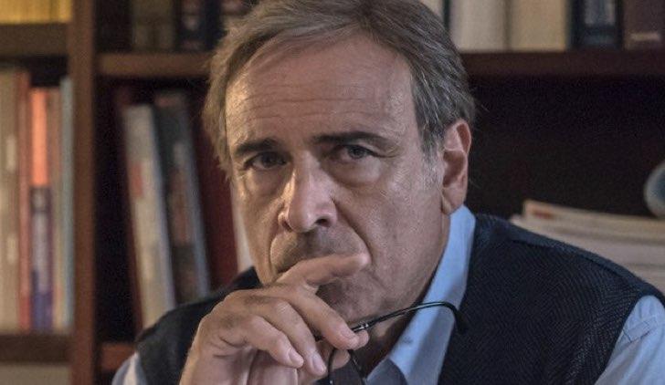 Enzo De Caro ne L'amore strappato fiction Credits Mediaset