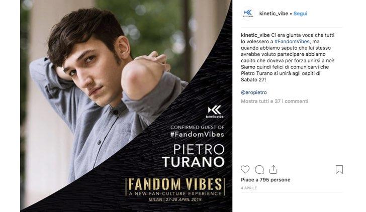 Fandom Vibes Pietro Turano