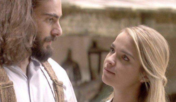 Isaac e Antolina ne Il segreto soap opera Credits Mediaset