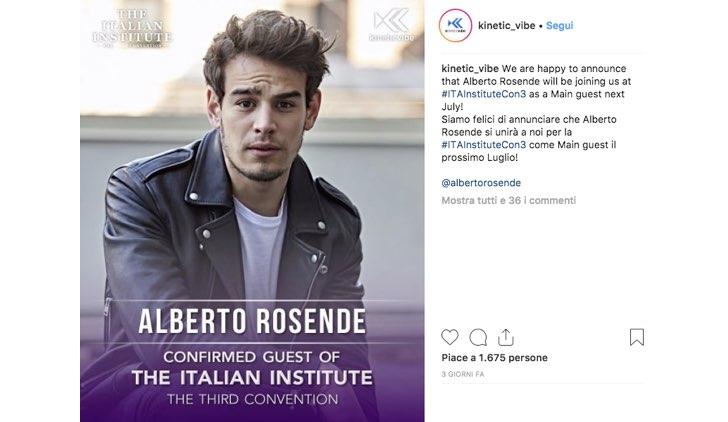 Italian Institute 2019 Alberto Rosende