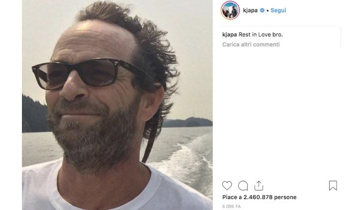 KJ Apa Luke Perry Instagram