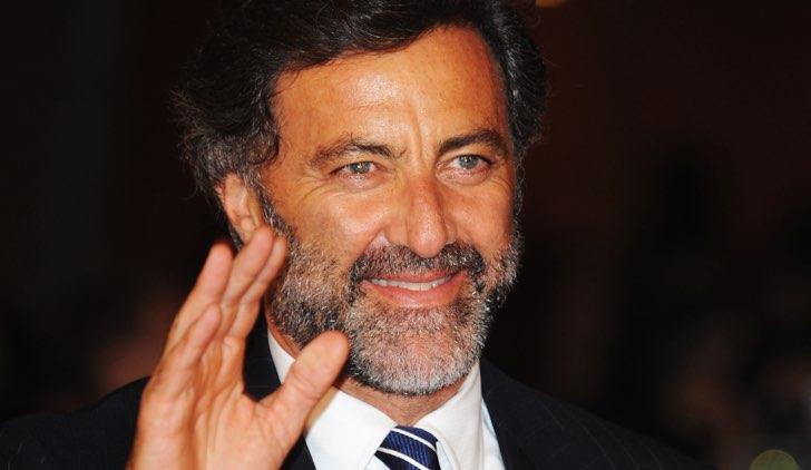 Luca Barbareschi annuncia la realizzazione della fiction L'impero, qui al Rome Film Festival 2008 Credits Pascal Le Segretain e Getty Images