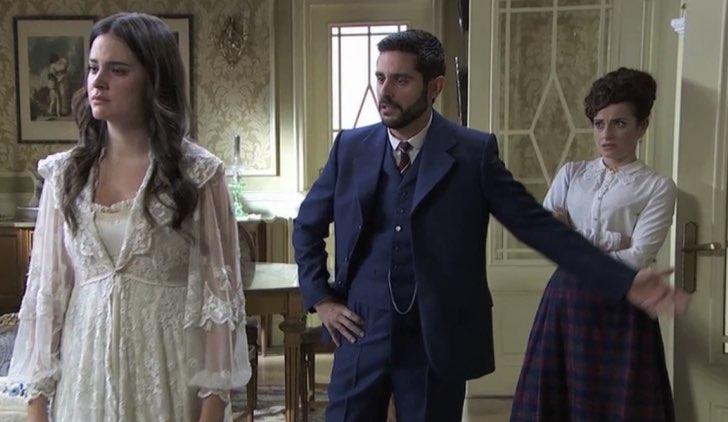 Maria Luisa e Victor in Una vita Soap Opera Credits Mediaset e TVE