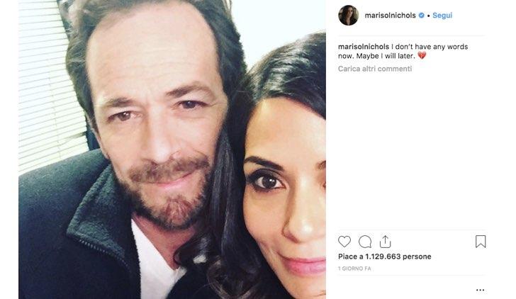 Marisol Nichols Instagram Luke Perry