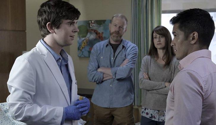 Shaun Murphy in the good doctor 1 serie tv Credits RAI
