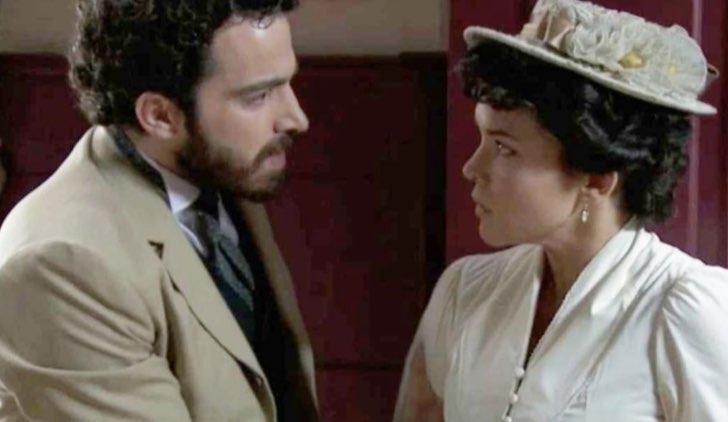 Diego e Blanca in Una vita Soap Opera Credits Mediaset
