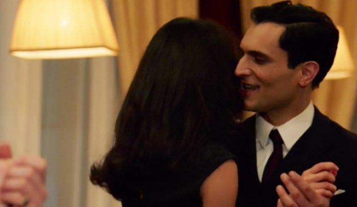 Il paradiso delle signore Lisa e Vittorio ballano al Circolo Credits RAI