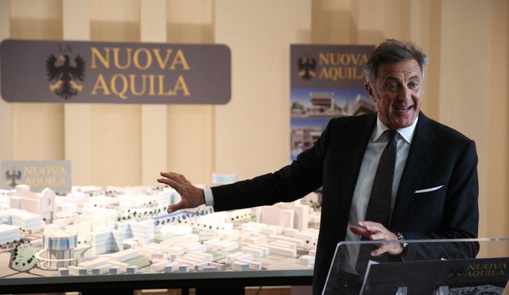 L'Aquila Grandi Speranze Luca Barbareschi Credits RAI