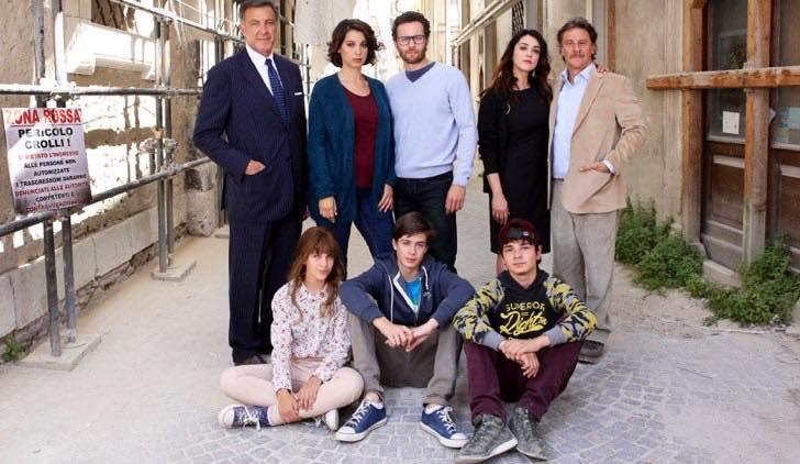 L'Aquila Grandi Speranze cast Credits RAI