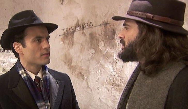 Alvaro e Isaac ne Il segreto Soap Opera Credits Mediaset