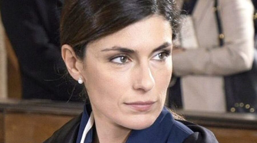Anna Valle in Sorelle serie tv Credits Rai