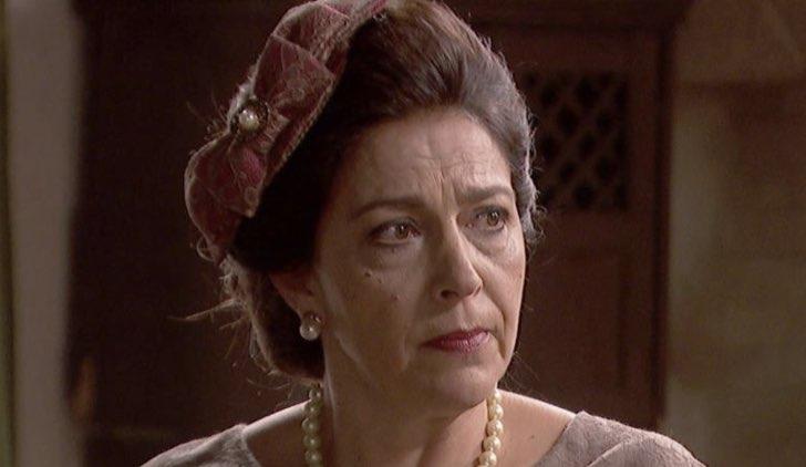 Donna Francisca ne Il Segreto Soap Opera Credits Mediaset