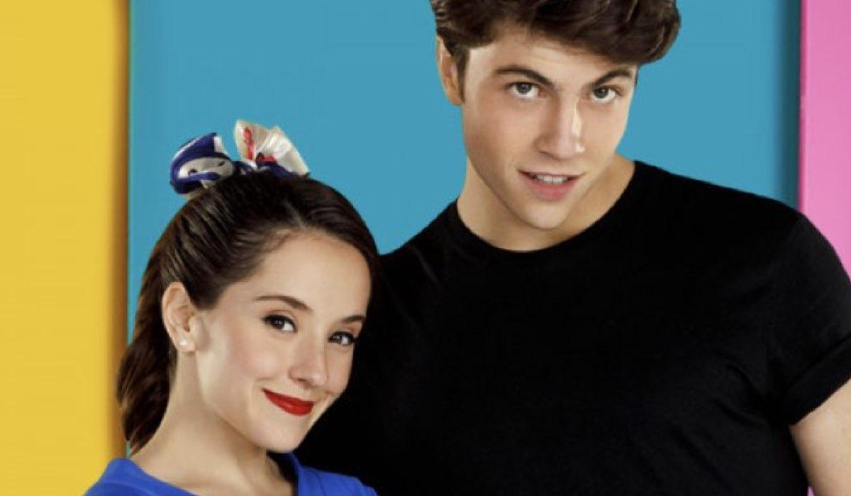 Eva e JJ protagonisti in Club 57 telenovela Credits Rai e Nickelodeon