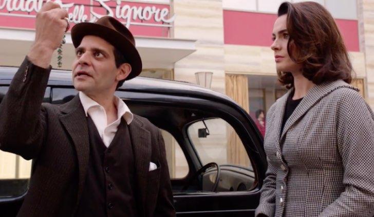 Il paradiso delle signore 3 Rino Farneti e Clelia Calligaris davanti a Il paradiso delle signore nell'episodio 7 Credits RAI