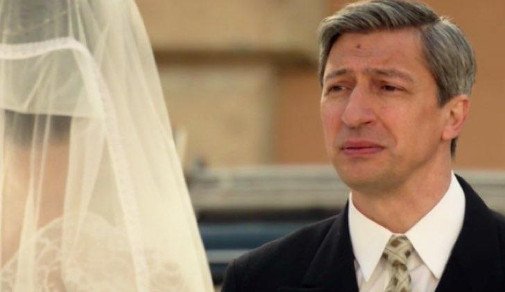Il paradiso delle signore Elena e suo papà il giorno delle nozze nella puntata 177 Credits RAI