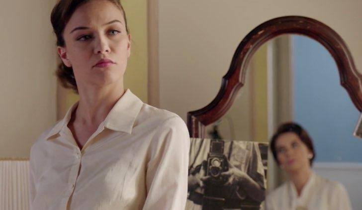 Il paradiso delle signore Marta discute con zia Adelaide nella puntata 1 Credits RAI
