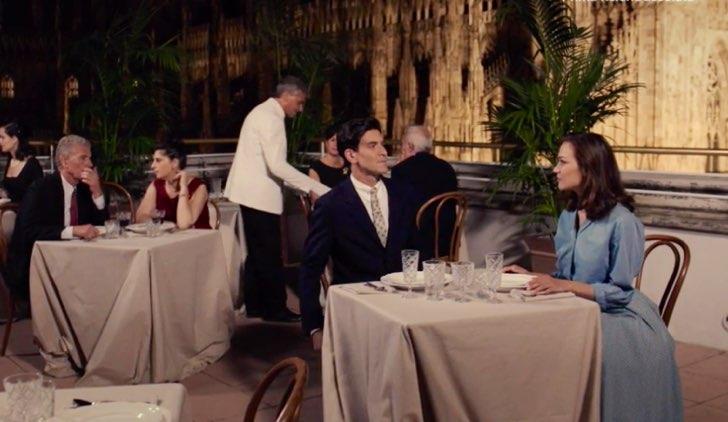 Il paradiso delle signore Spinelli e Marta a cena nella puntata 9 Credits RAI