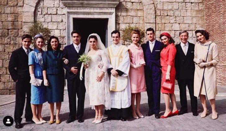 Il paradiso delle signore foto del matrimonio di Elena e Antonio pubblicata da Ilaria Rossi sul suo account Instagram ufficiale Credits RAI