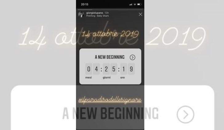 Il paradiso delle signore nuovi episodi data di uscita Credits Account Instagram ufficiale Giorgio Lupano
