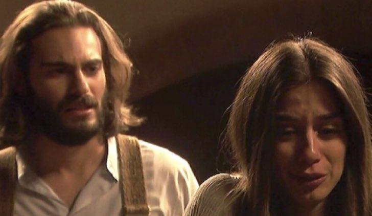 Isaac ed Elsa ne Il Segreto Soap Opera Credits Mediaset